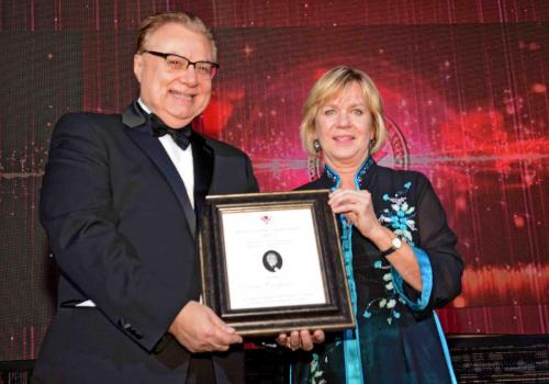 CEMA Dominic Campione, Madeline Ziniak, S K Ziniak Award 7237