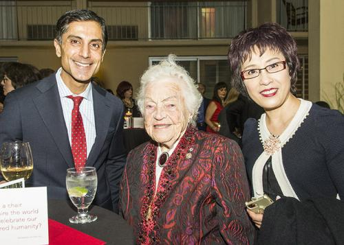 Faez Rahim Hazel McCallion Amy Tjen