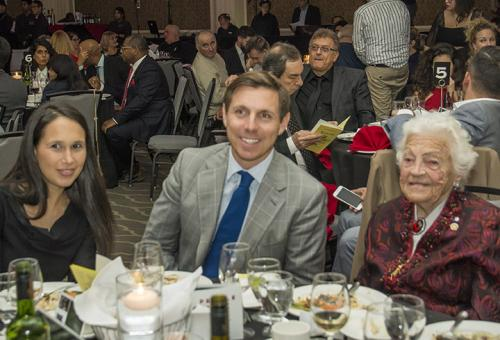 Genevieve Gualtieri, Mayor Patrick Brown Hazel McCallion