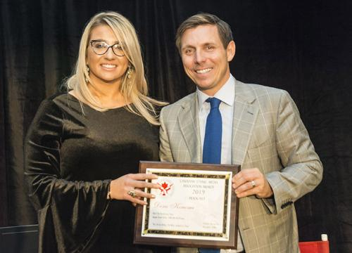 Podcast Award Dora Konomi Brampton Mayor Patrick Brown